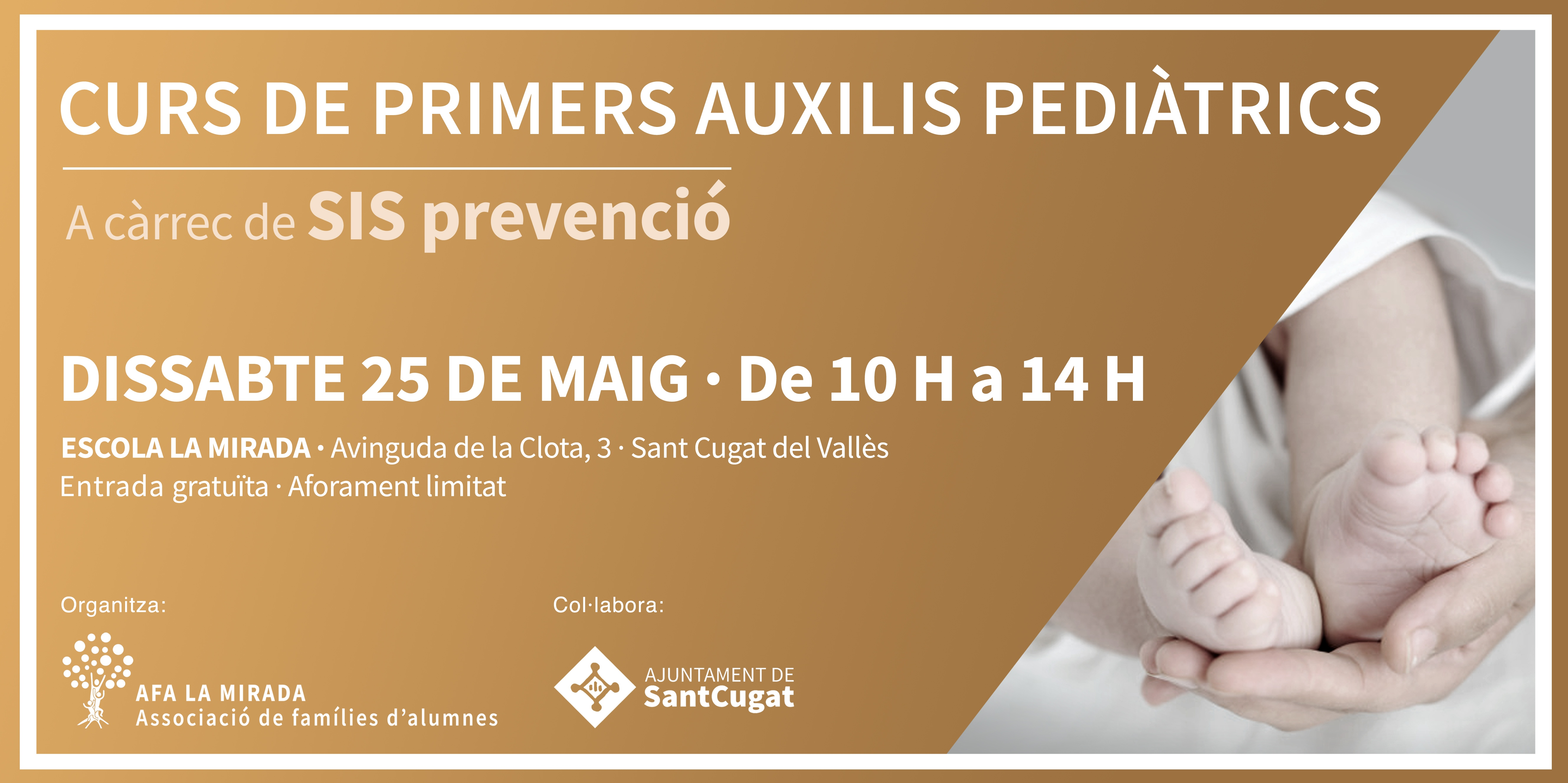 Curs de primers auxilis pediàtrics